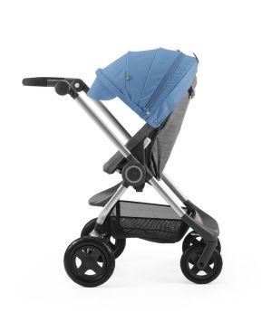 Stokke Scoot Blue on Black Melange 160610-9569 Parent Active_29809